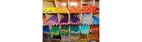 Farb- und Aquarellstifte