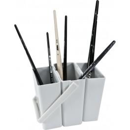 Pinselwascher 3tlg., Kunststoff