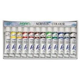 Marie's Acrylverf Set 12 Tubes