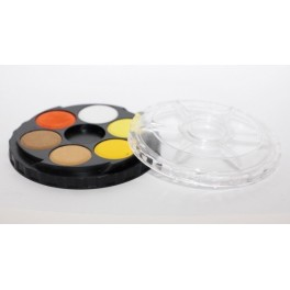 Set Aquarelverf, 6 kleuren