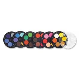 Set Aquarelverf, 36 kleuren