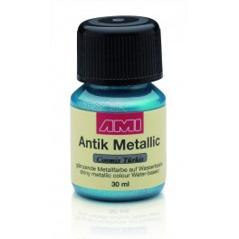 Antiek Metallic Cosmic Turquoise 30ml