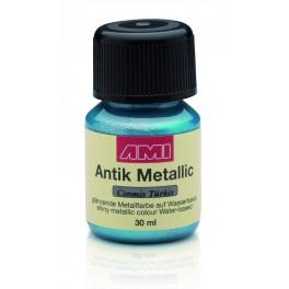Antik Metallic Cosmic Türkis 30ml