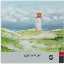 Aquarell No.1. 20x20cm