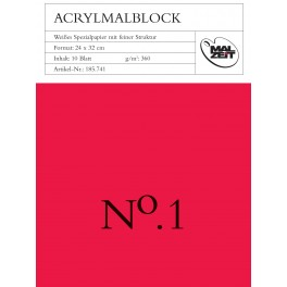 Acrylmal 24x32cm