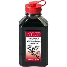 Chinese Ink 100ml, plastic bottle