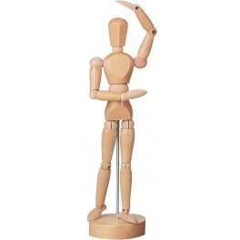 40cm femme, laqué