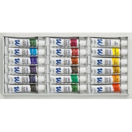 Marie's aquarelle Set 18 Tubes, 12ml