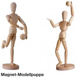 Magnet Modellpuppe 30cm inkl. Kugel