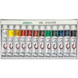 Marie's Oil Paint Set 12 colours