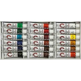 Marie's Oil Paint Set 18 colours