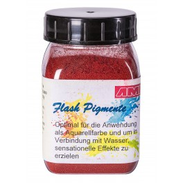 Flash pigment rood
