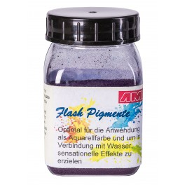 Flash pigment blauw