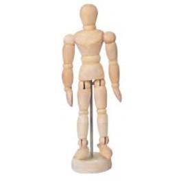 Ledenpop 11cm unisex, gelakt