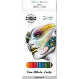 FANTASY Coloured Pencils 24