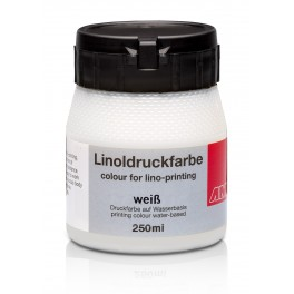 Lino Print Paint 250ml White