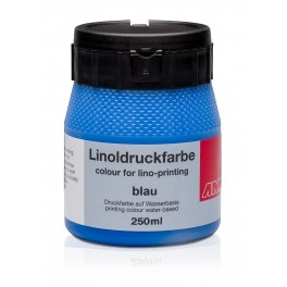 Lino Print Paint 250ml Blue