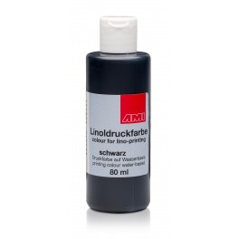 Lino Print Paint 80ml Black