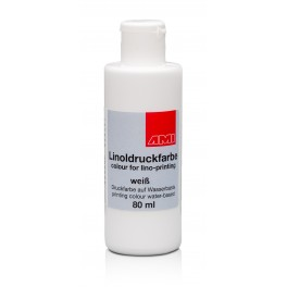 Lino Print Paint 80ml White