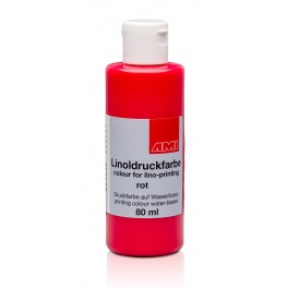 Lino Print Paint 80ml Red