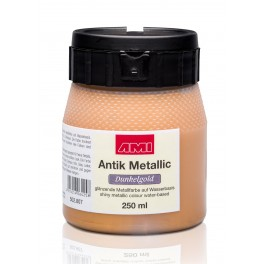 Metallic Dunkelgold 250ml.