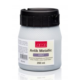 Metallic Zilver 250ml