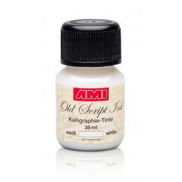 Old Script encre 35ml blanc