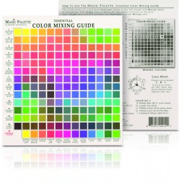 Colour Mixing Guide Magic Palette Mini