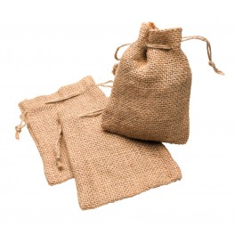Jute Bags natural Set 3 pcs.