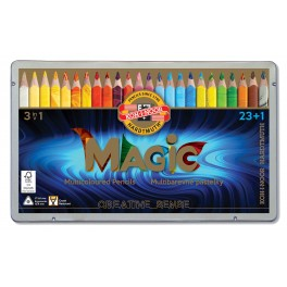 Magic Multicolour Pencil Set, 24 colours