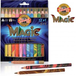Magic Multicolour Pencil Set, 13 colours