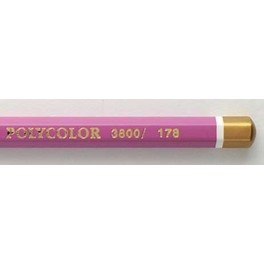 Polycolor Coloured Pencil no.178 Reddish Violet 2