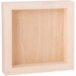 Corp en bois 3D 30x30x9cm