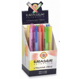 Eraser with holder