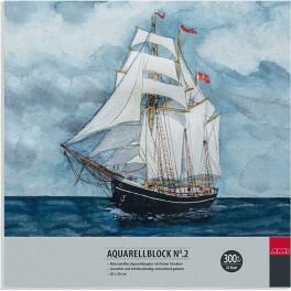 Aquarell No. 2. 20x20cm