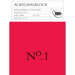 Acrylblok 30x40cm