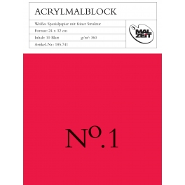 Acrylblok 42x56cm