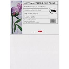 Acrylmalpapier 24x32cm