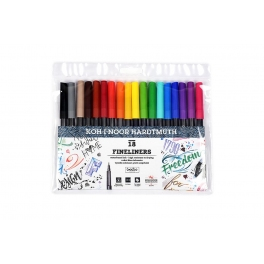 Fineliner set 18 dlg.