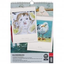 Kalenderblok met spiraal A4