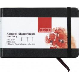 Aquarelbook 14x9cm