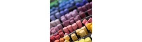 Crayons pastel sec