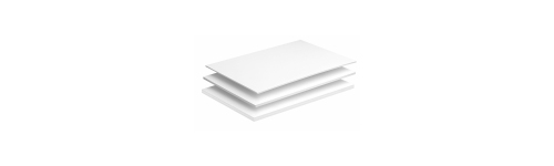 Foamboard wit, 3mm